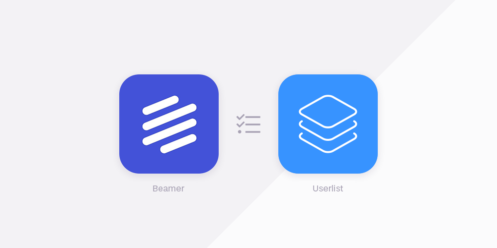 Beamer vs Userlist