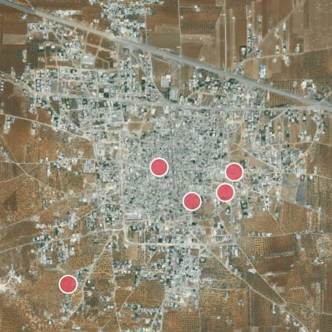 Impact Sites in Sarmin
