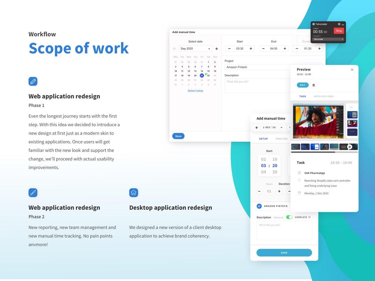 Project Scope - UX Design | Tahometer