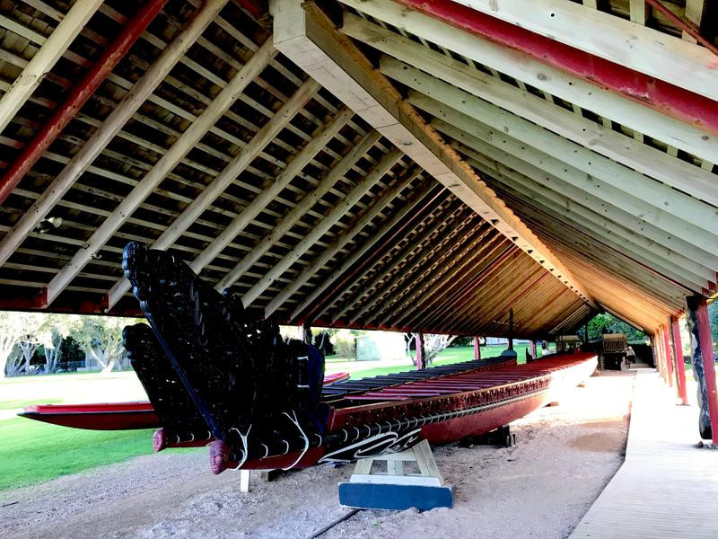 Maori war canoe - still used today in celebrations