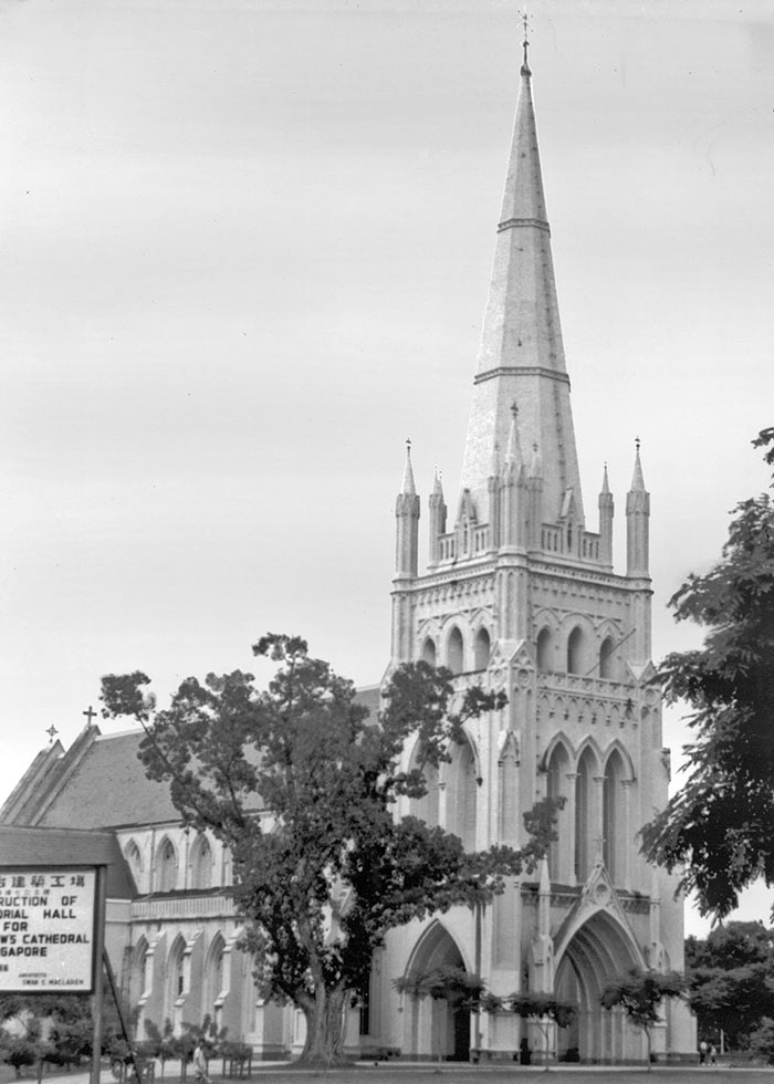 St. Andrew's Cathedral, 1950s