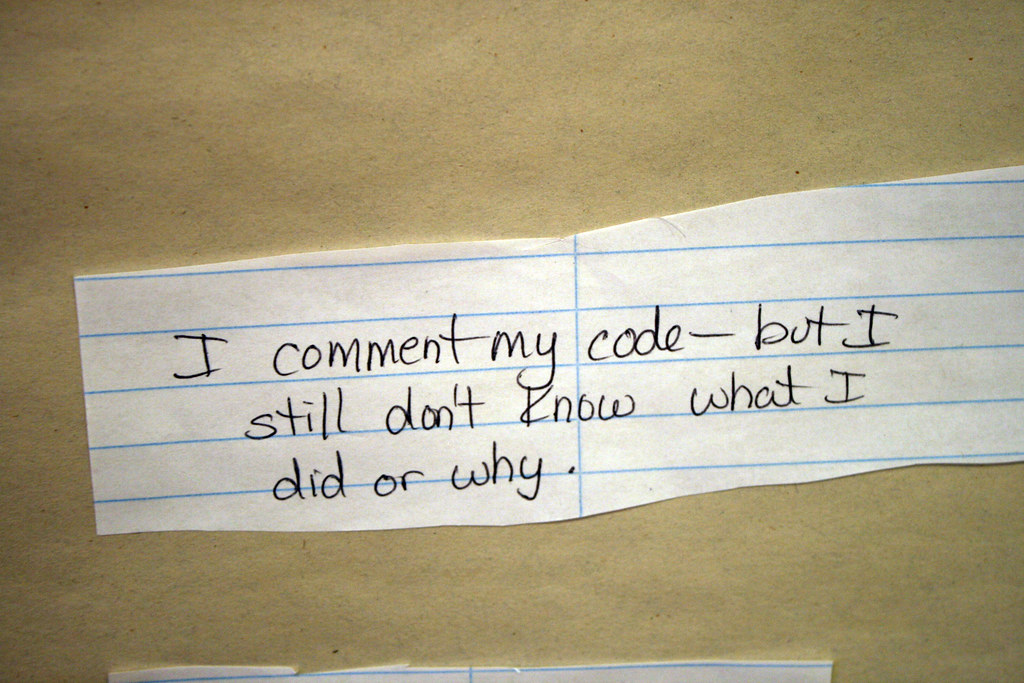 Code comments memory