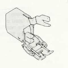 Cording/Welting Foot
