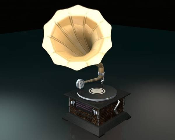 3D - Gramophone