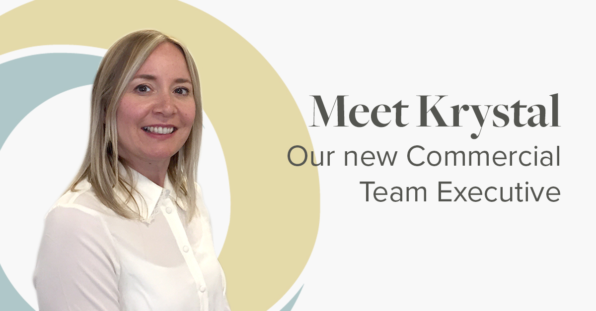 Meet Krystal, our new Commercial Team Executive