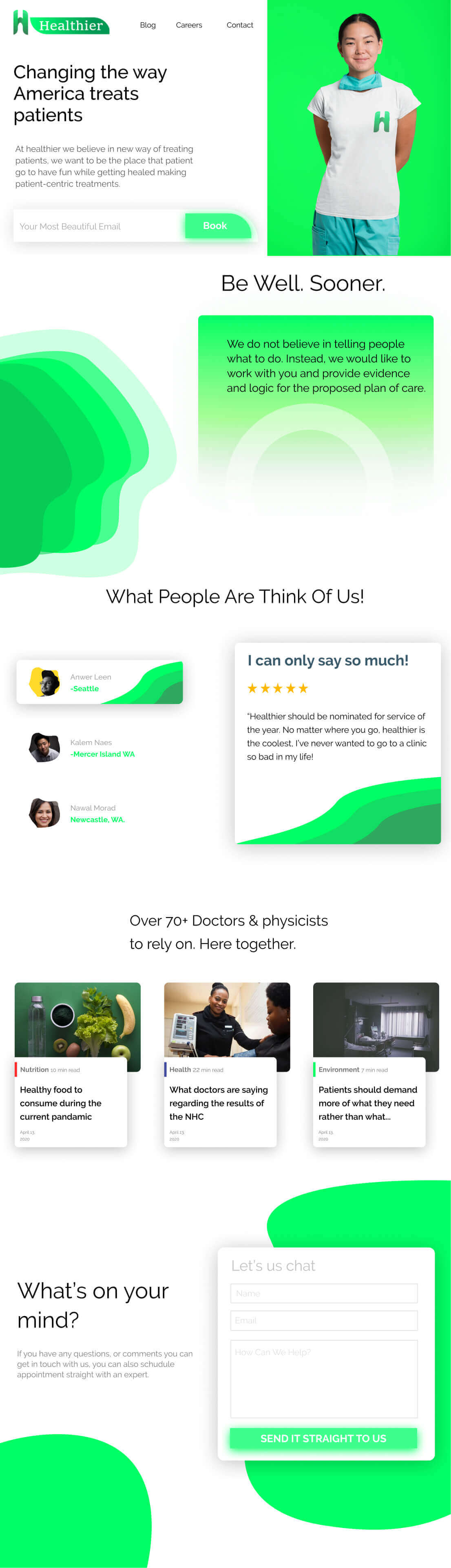 Caresect Website