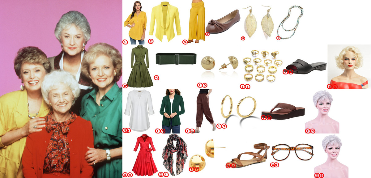 The Golden Girls cosplay & Costume Guide