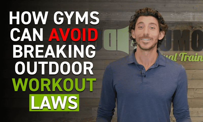 How Gyms Can Avoid Breaking Outdoor Workout Laws