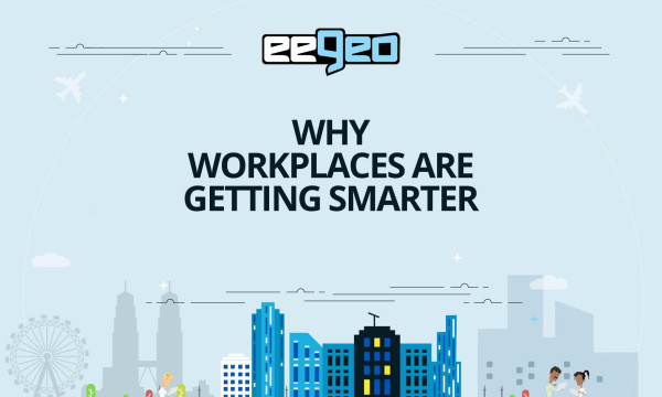 Introducing the smart workplace solutions at Realcomm's intelligent building conference.