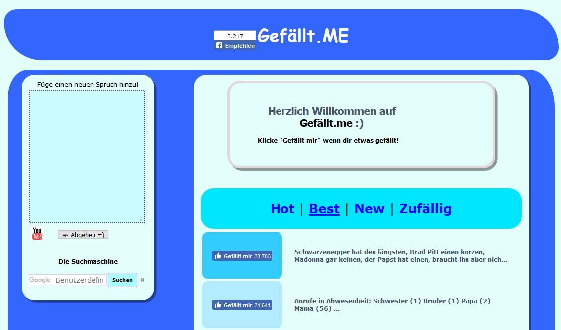 gefaellt.me | Website