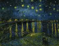 Starry Night Over the Rhone by Vincent Van Gogh, 1888. Musée d'Orsay, Paris