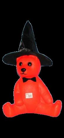 Halloween Orange Bear photo