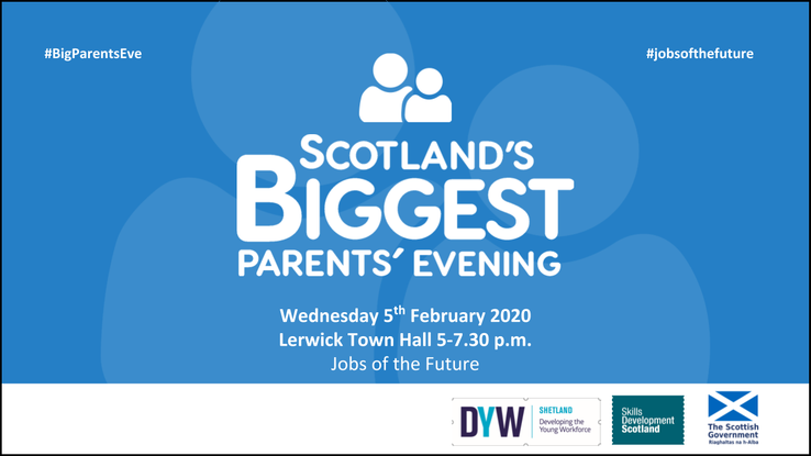 Maria goes to the Developing the Young Workforce event at Lerwick Town Hall.