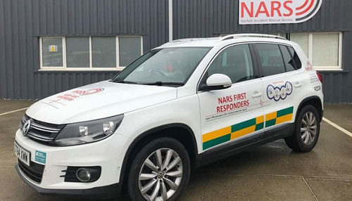 New NARS car will help save lives this winter after Potters donation