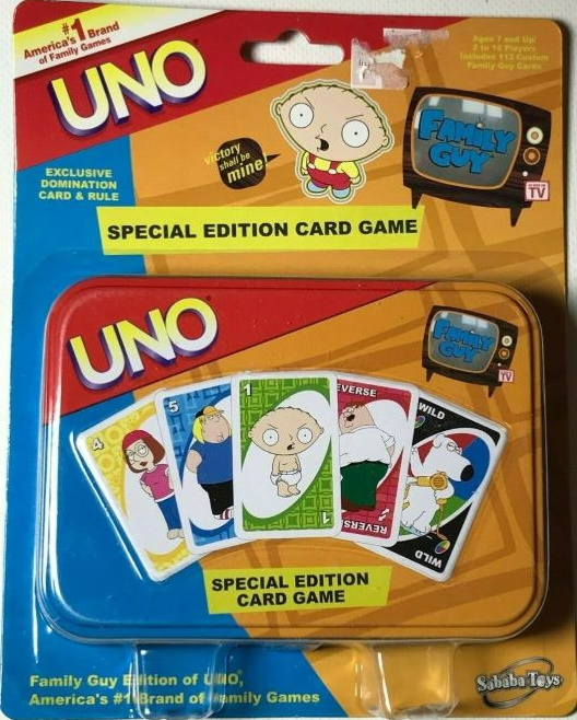 Family Guy Uno