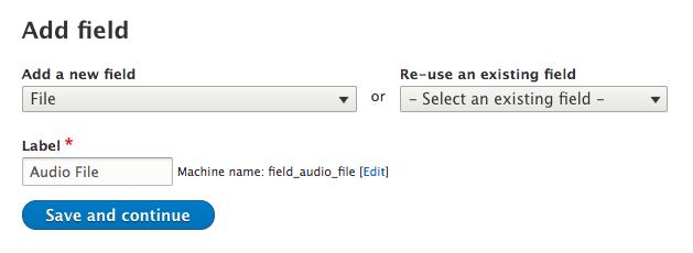 Add a file field