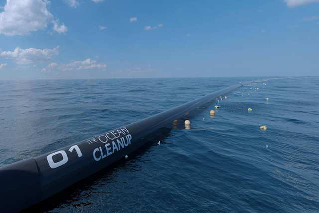 Magic Green - The Ocean Cleanup