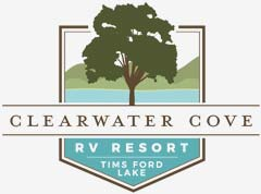 Clearwater Cove RV Resort Logo