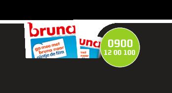 Bruna gebruikt een 0900-nummer.