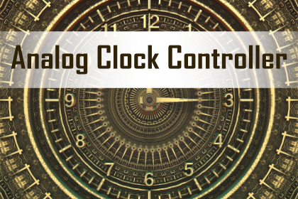 project Analog Clock Controller