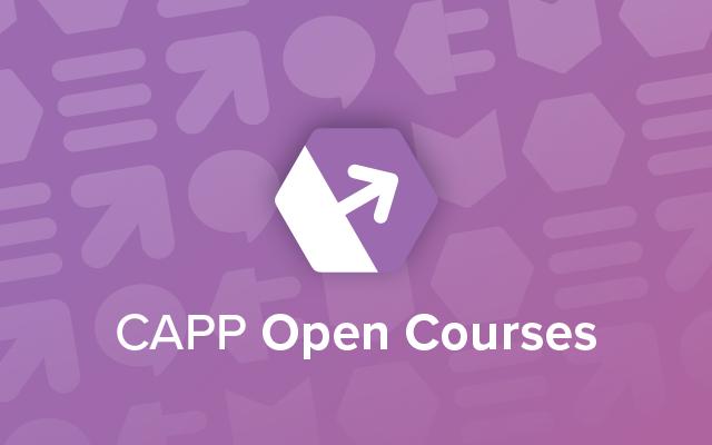 CAPP Open Courses Productsheet