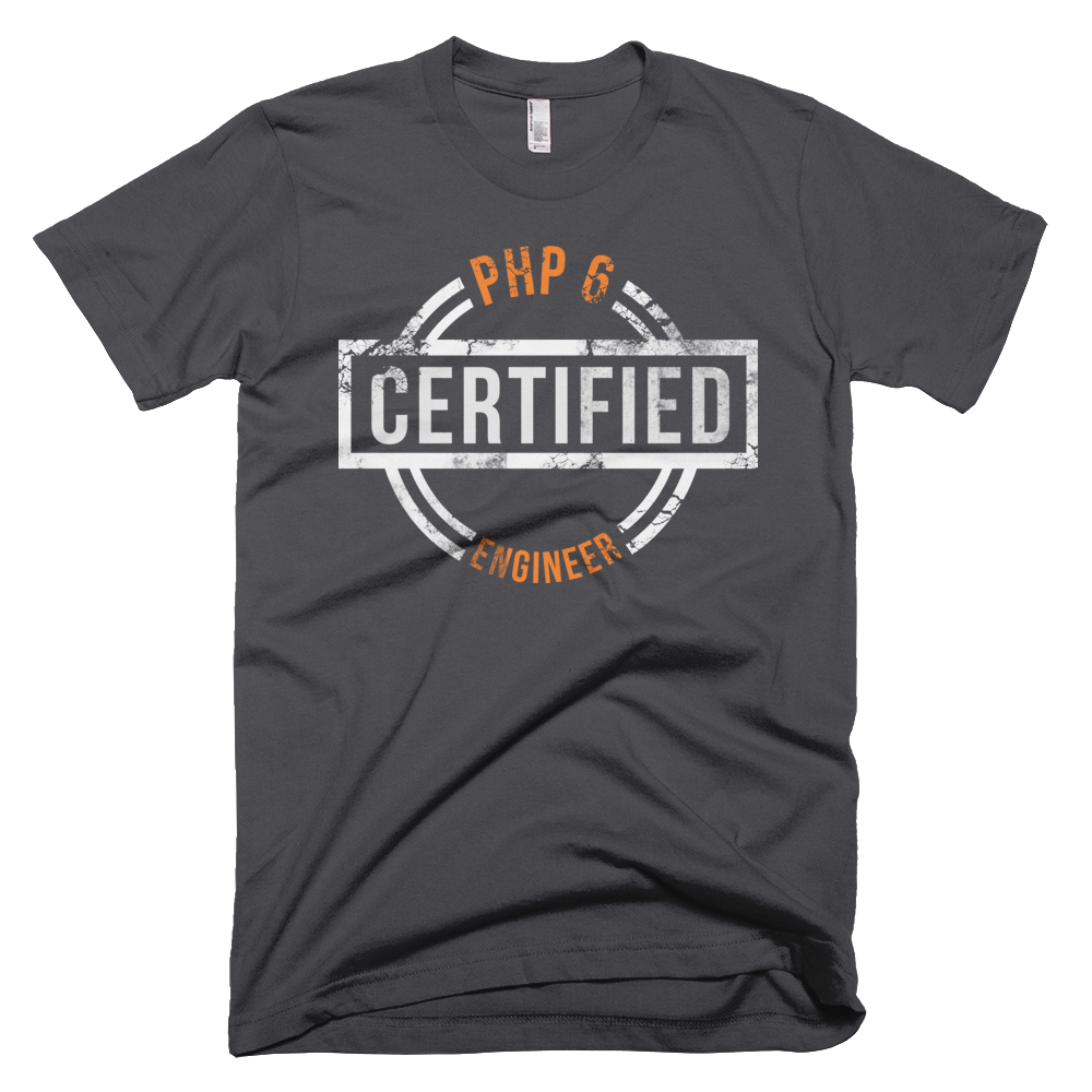 Amazing new PHP 6 Certified design, brainvented by Gary Hockin, the best thing he's even done.