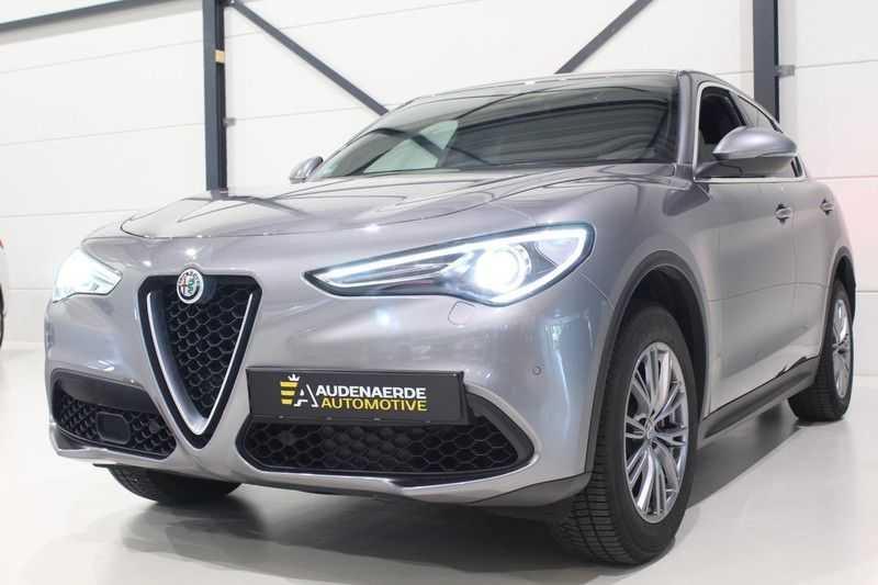Alfa Romeo Stelvio 2.0 T AWD Super Veloce pack | Sportstoelen | Trekhaak | Adaptive cruise control | Leer afbeelding 7