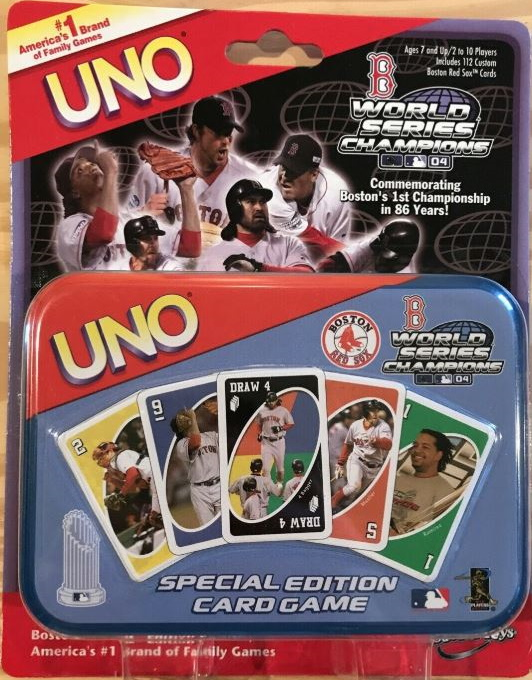 Boston Red Sox Uno: World Series Champions (2004)