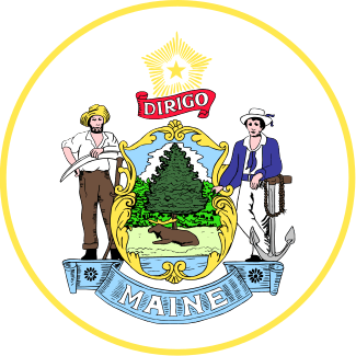 logo of State of Maine