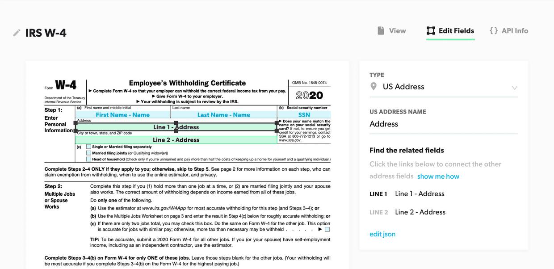 Create PDF Template
