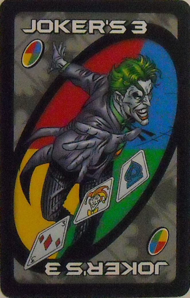 Batman Uno (The Joker's 3 Card)