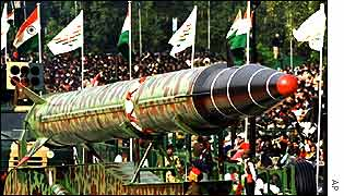India launches the Agni-III missile
