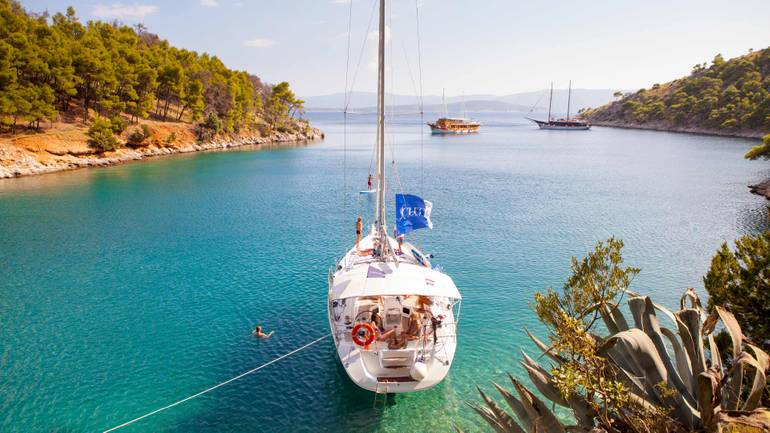 Going on holiday? Go to Greece sailing
