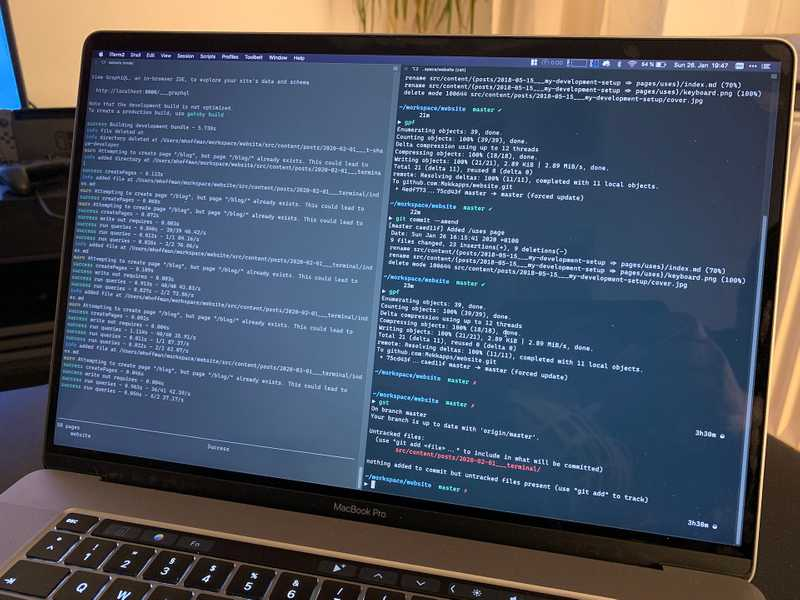 Boost Your Productivity By Using The Terminal (iTerm & ZSH) Image