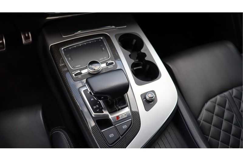 Audi Q7 4.0 TDI SQ7 quattro Pro Line + BOSE, Ruitstiksel, Carbon, Trekhaak afbeelding 12