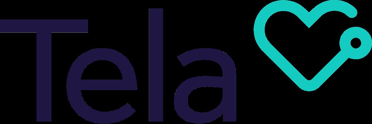 Tela logo dark