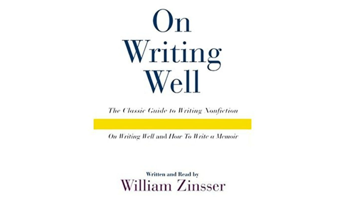 On Writing Well book cover.