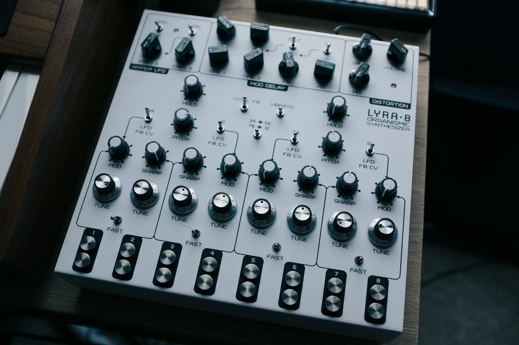 An image of the Soma Synths Lyra 8.