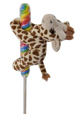 "The Petting Zoo: 7"" Lolly Plush Giraffe"