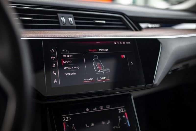 "Audi e-tron 55 Quattro *4% Bijtelling / Massage / HUD / Pano / 21"" / Hulppakket Stad & Tour* afbeelding 23"