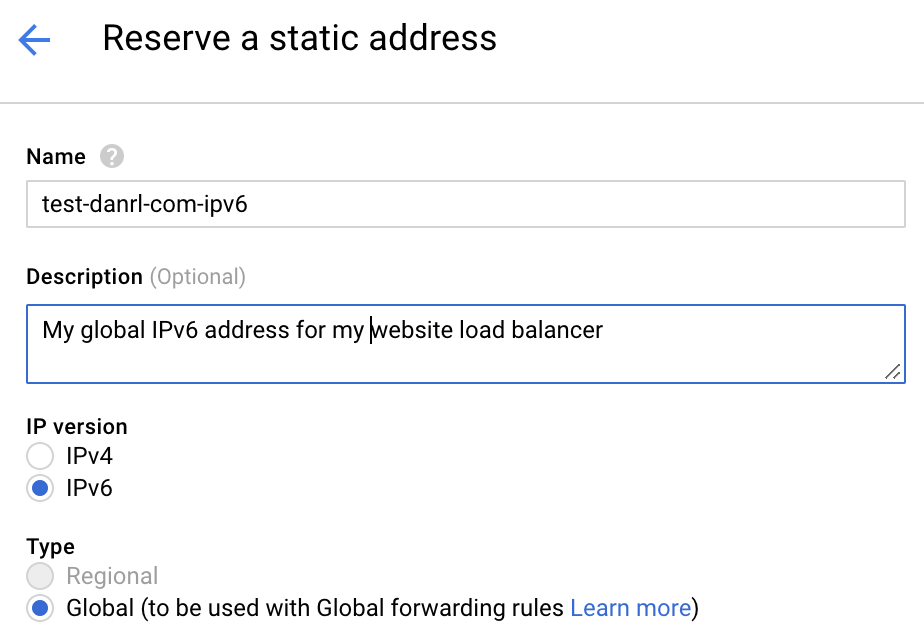 Ipv6 And Lets Encrypt Tls On Google Kubernetes Engine Danrl