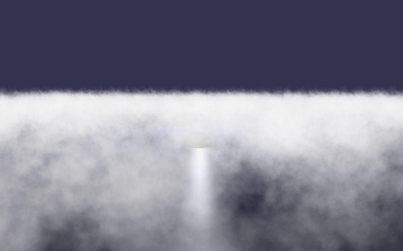 Low lying fog