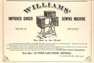 Williams Advert 1881