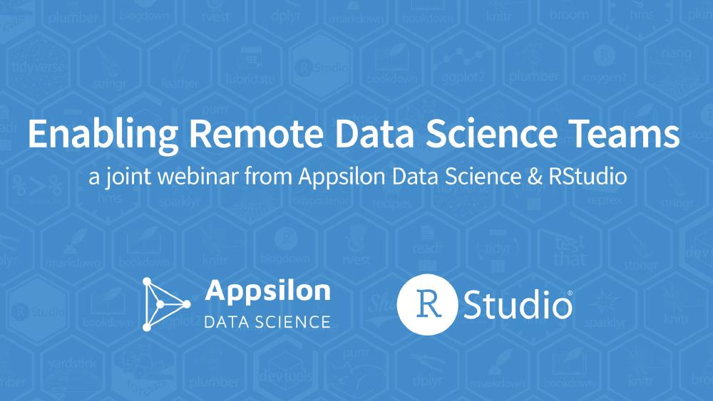 Enabling Remote Data Science Teams