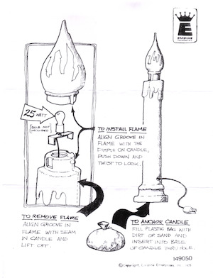 Empire Candle Instruction Manual.pdf preview