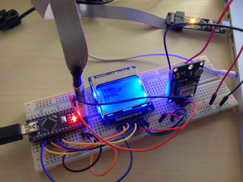 Эксперименты с модулем GPS