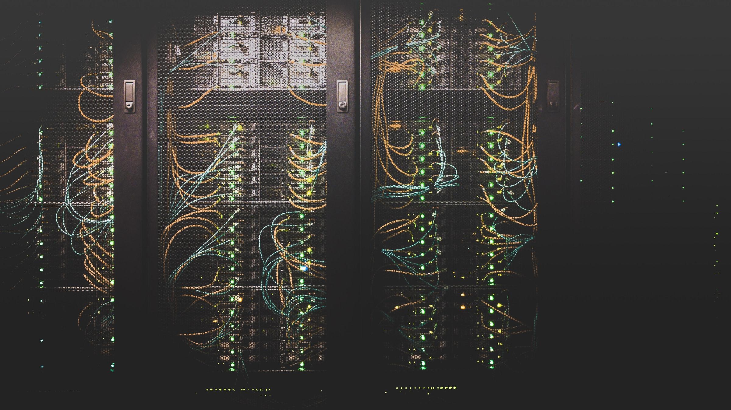 Photo of a server!