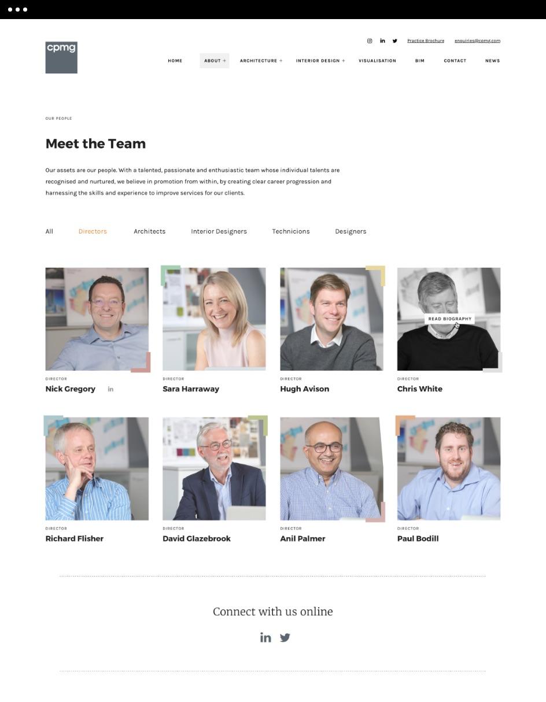 CPMG Team Design
