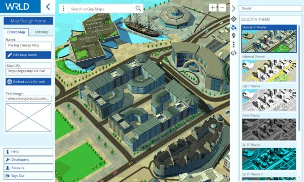 How to use WRLD Map Design Tools