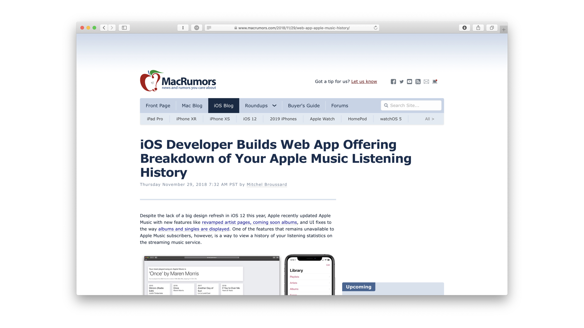 Apple Music Analyser • Pat Murray